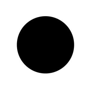Big black dot